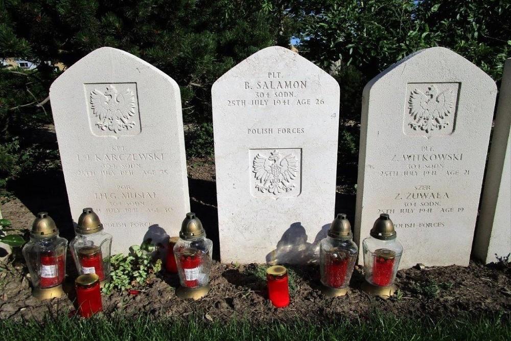 Polish War Graves Hoek van Holland