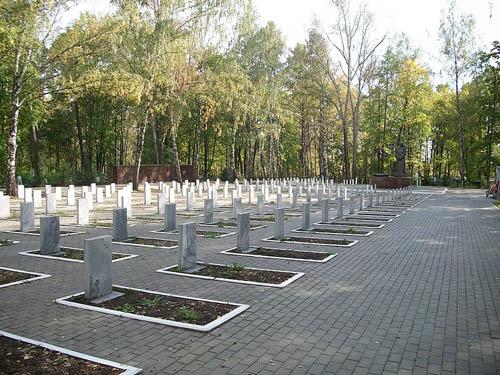 Sovjet Oorlogsbegraafplaats Saransk