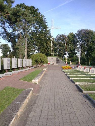 Sovjet Oorlogsbegraafplaats Bielsk Podlaski