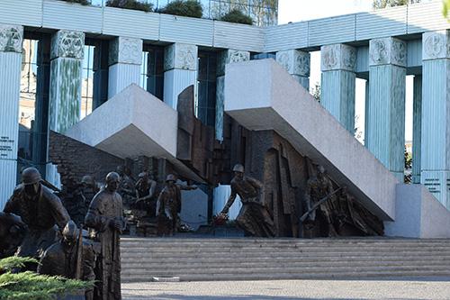 Monument Warschau Opstand