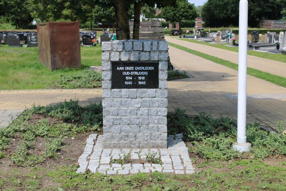Memorial and Veteran Cemetery Paal Tervant