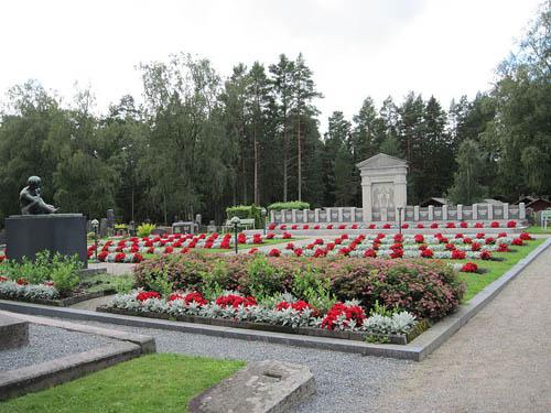 Finse Oorlogsgraven Närpiö