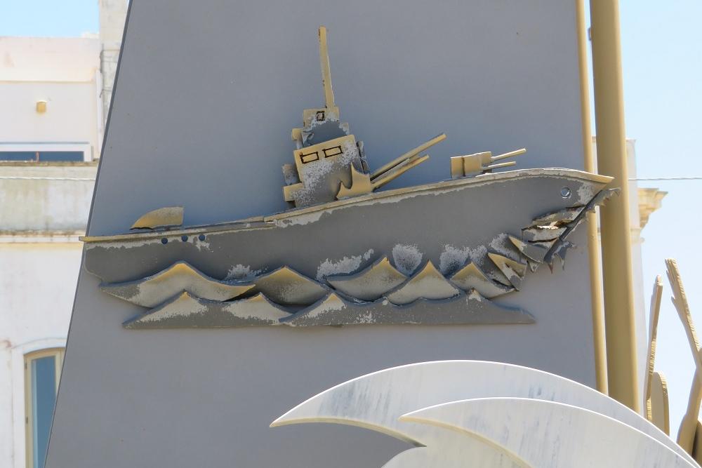 Monumento Ai Caduti del Mare, Gallipoli