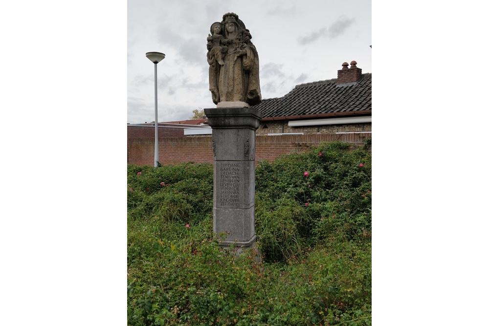 Remembrance-Column Hesperenstraat Tilburg