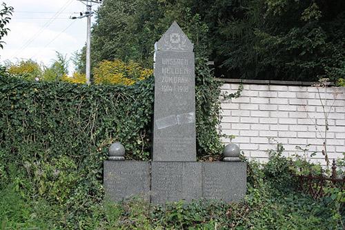 German War Memorial Lazne Libverda