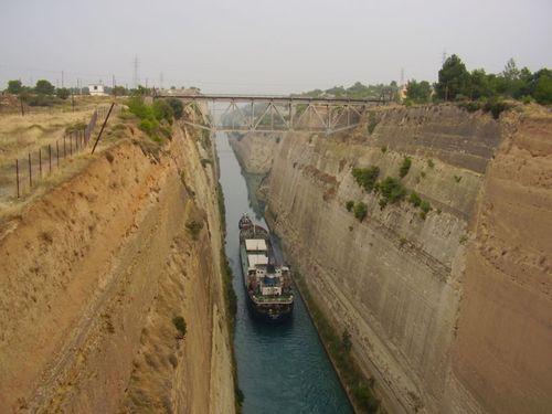 Corinth Canal Korinthos