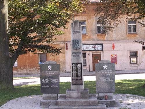 War Memorial / Liberation Memorial Golčův Jeníkov