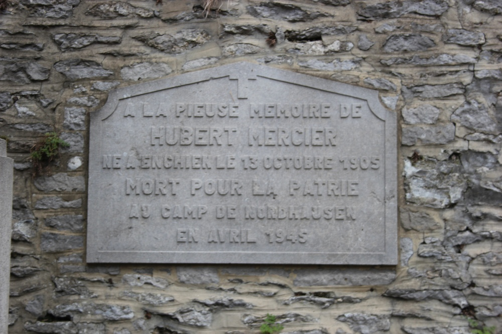 Commemorative Plaques Killed Resistance Fighters Arquennes