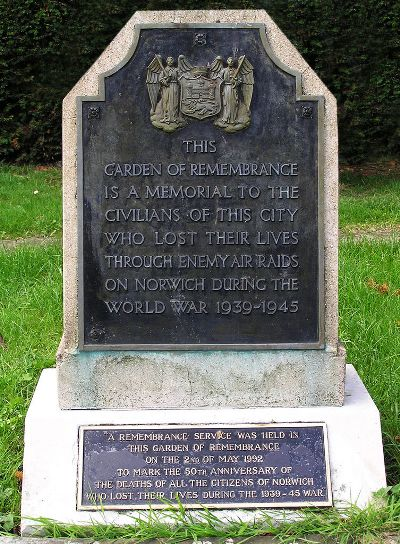 Garden of Remembrance Civilian Casualties
