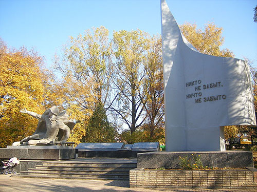 Massagraf Sovjet Soldaten Chuguev