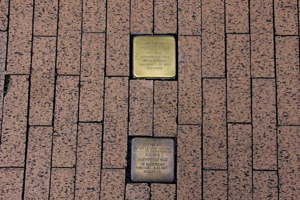 Stolpersteine Folkingestraat 7