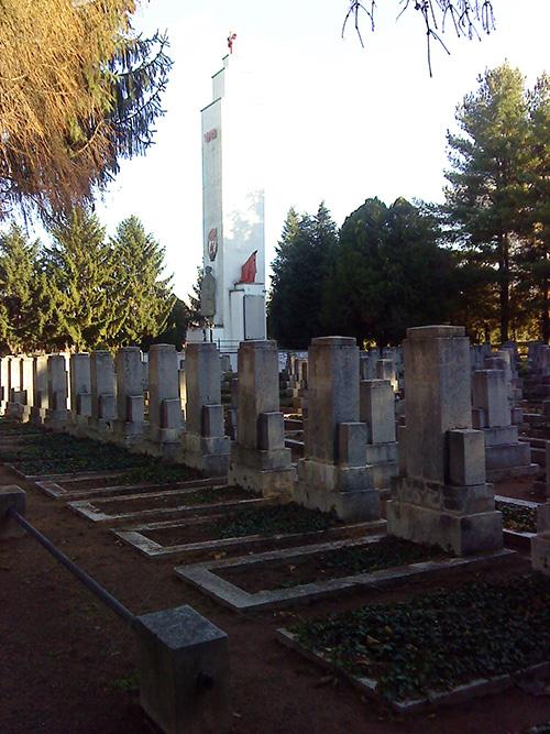 Soviet War Graves Pecs