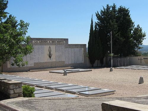 Memorial & Cemetery French Foreign Legion