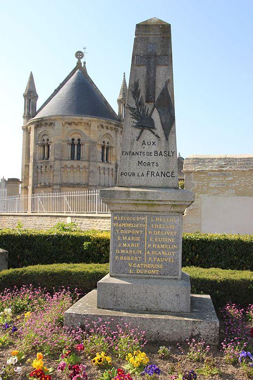 War Memorial Basly