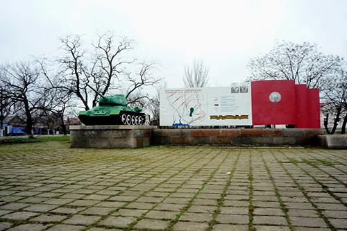 Monument Snigirevskoy-operatie (T-34/85 Tank)
