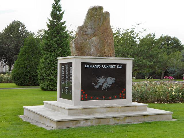 Monument Falklandoorlog Wales