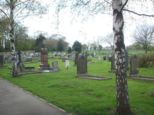 Oorlogsgraven van het Gemenebest Campsall New Cemetery