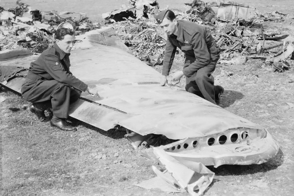 Crash Site Junkers Ju-88 Wrk. 2537