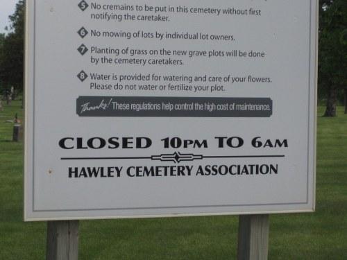 Oorlogsgraven van het Gemenebest Hawley Cemetery