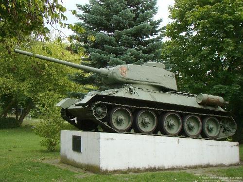 Tank-Memorial T-34 Lalendorf