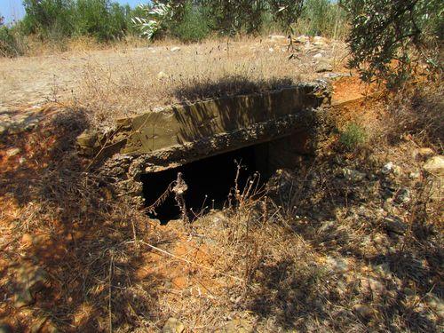 Bunker 'Hill 107' Maleme