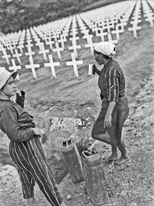 Locatie Voormalige 6th Marine Division Begraafplaats