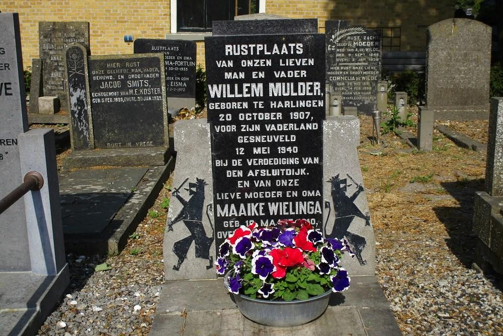 Nederlands Oorlogsgraven Algemene Begraafplaats Harlingen