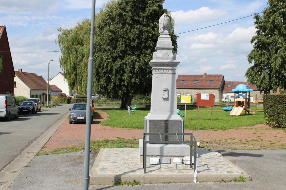 War Memorial Wasmes-Audemetz-Briffoeil