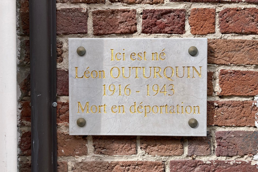 Remembrance Stone Rue Du Moulin 5 Le Crotoy