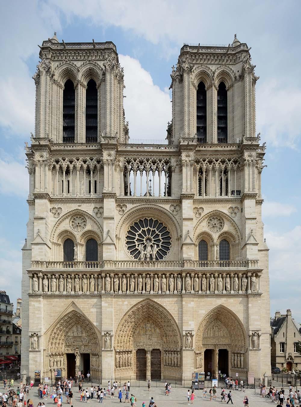 Cathédrale Notre-Dame de Paris / Onze-Lieve-Vrouwekathedraal van Parijs