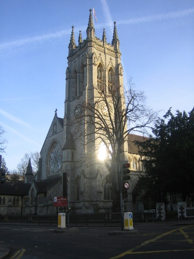Commonwealth War Graves St George Churchyard