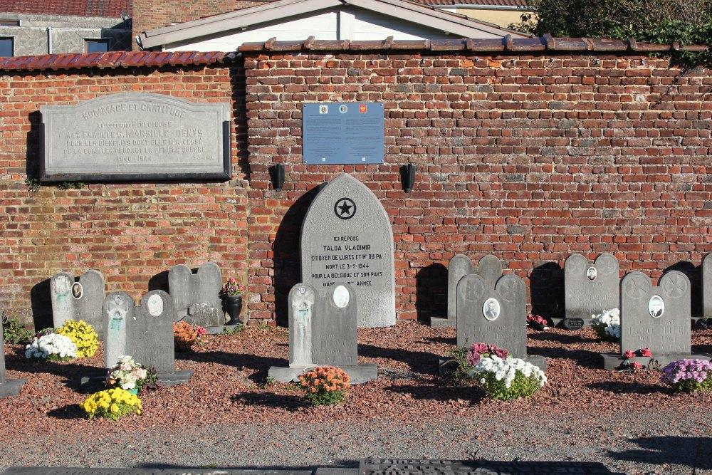 Soviet War Grave Rebecq-Rognon