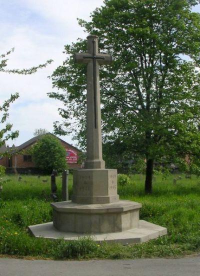 War Memorial Holbeck Cemetery