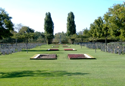 Commonwealth War Cemetery Coriano Ridge