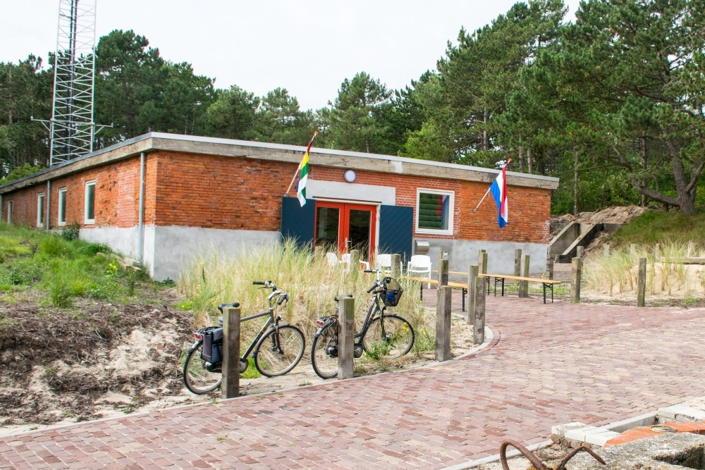 German Radarposition Tiger - Former Canteen, Now Visitor Center