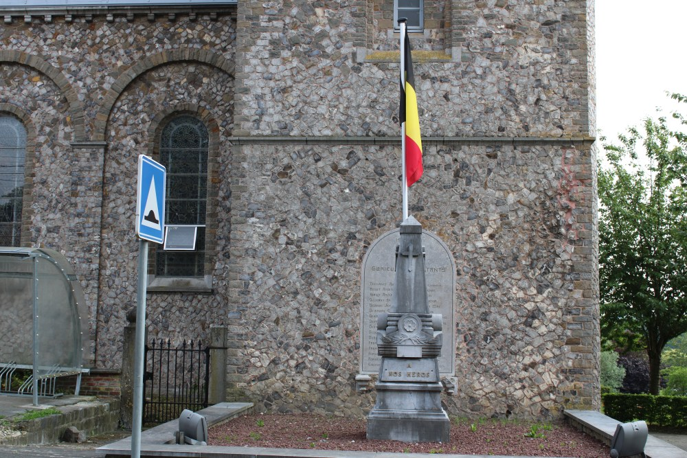 Oorlogsmonument Avennes