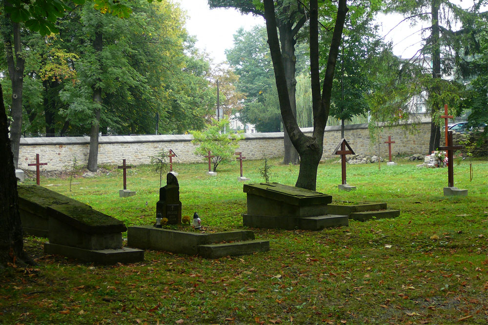 Oude Christelijke Begraafplaats Olkusz