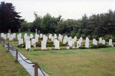Commonwealth War Graves St. Michael Churchyard