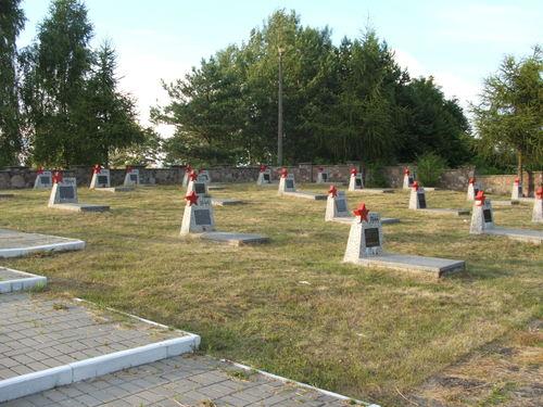 Sovjet Oorlogsbegraafplaats Milejczyce