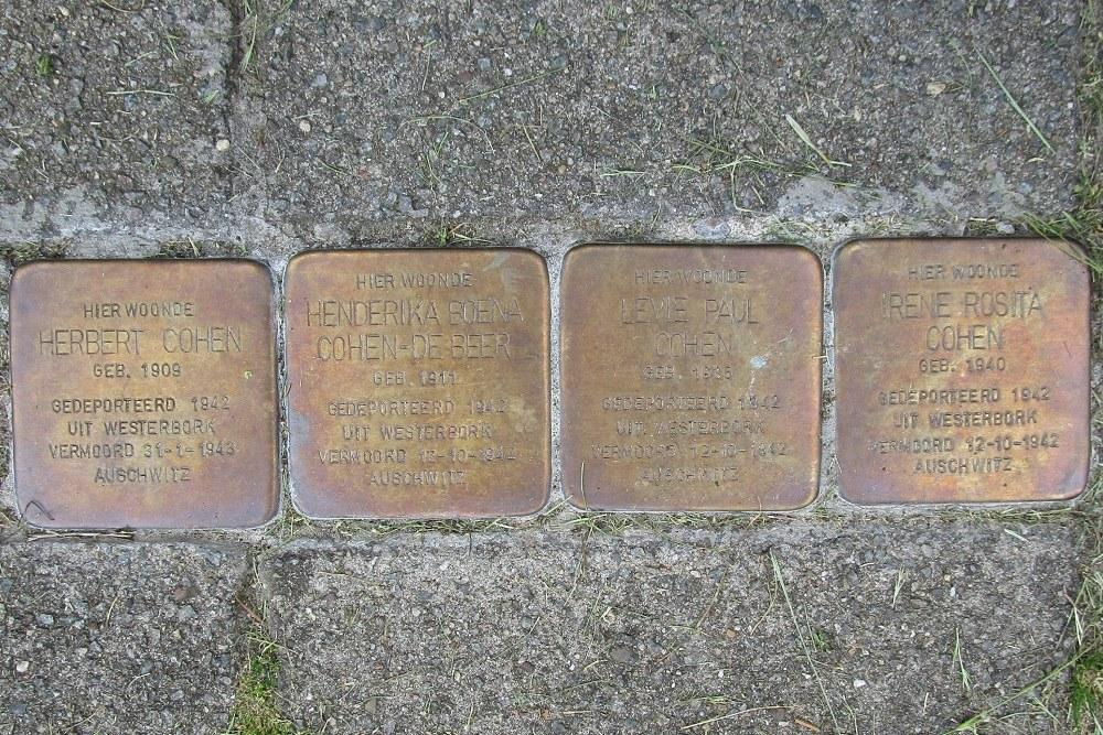 Herdenkingsstenen C.J. Snuifstraat 17