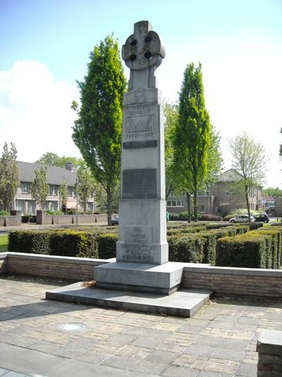 Memorial 53rd Welsh Division Den Bosch