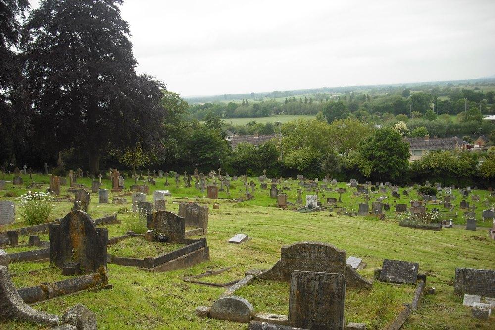 Commonwealth War Graves Glastonbury Cemetery