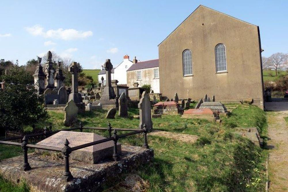 Oorlogsgraven van het Gemenebest Groeswen Welsh Congregational Chapelyard