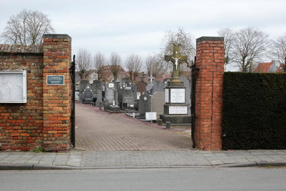 Oorlogsgraven van het Gemenebest Uitbreiding Begraafplaats Veurne