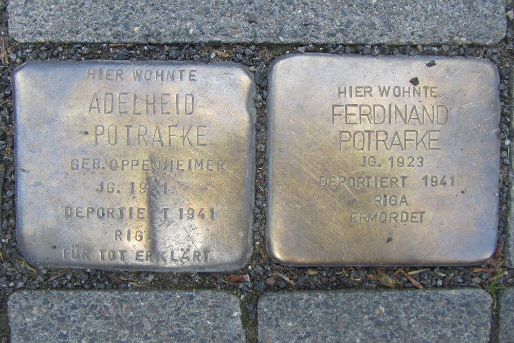 Stolpersteine Helenenstraße 12