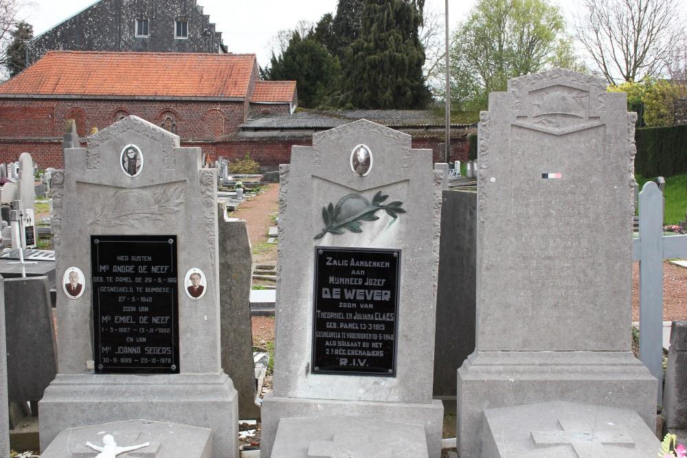 Belgische Oorlogsgraven Pamel