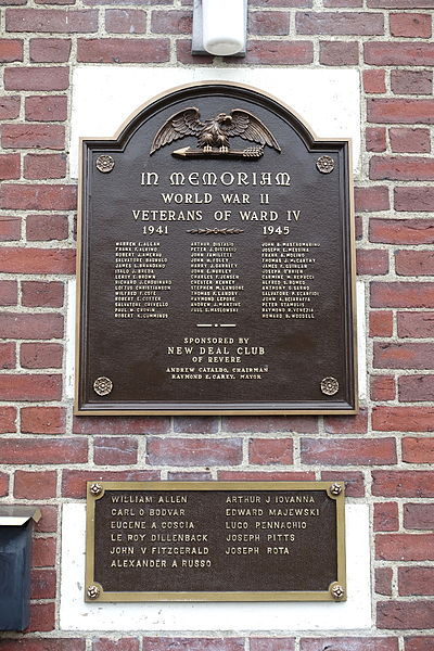 World War II Veterans Memorial Ward IV