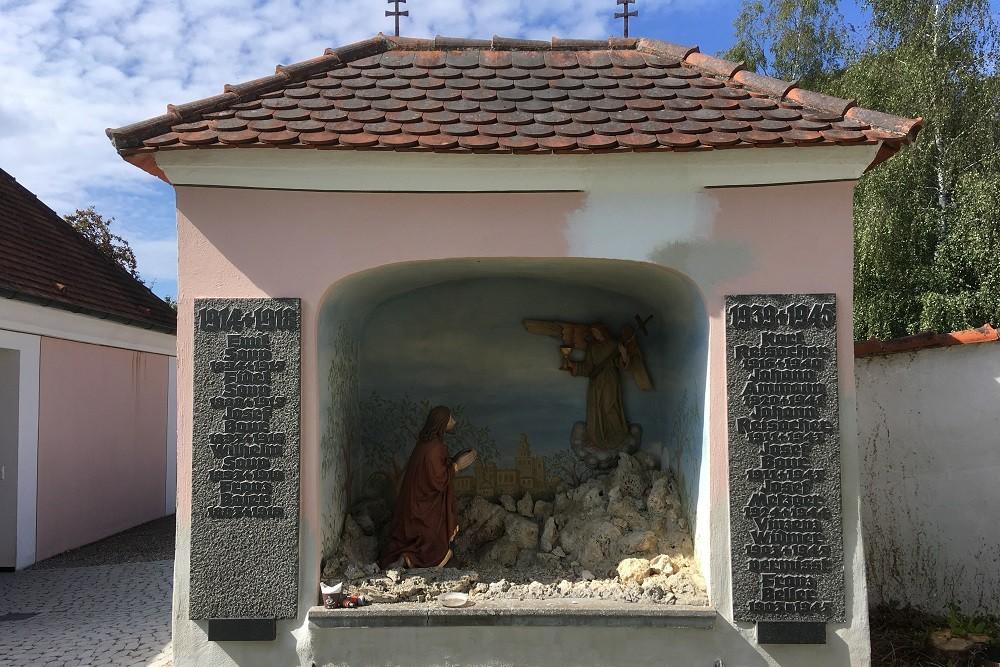 Monument To The Fallen In World War I And World War II Egelfingen