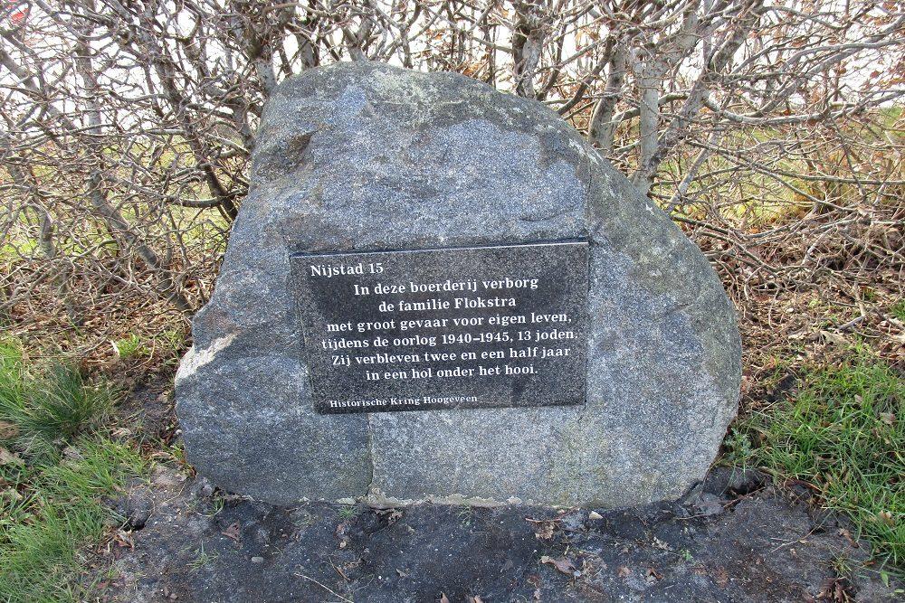 Basisschool het Rastholt herdenkt de familie Flokstra