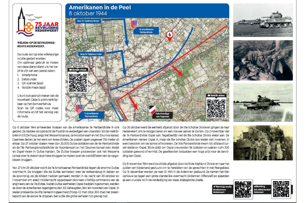 Liberation Route Location 6 - Americans in de Peel